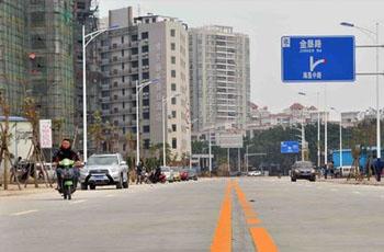 海垦中路贯通工程完工 将缓解交通压力