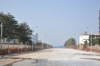 海口2市政道路通车 将缓解周边交通压力
