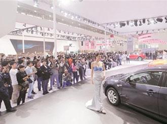 2014武汉国际车展开幕豪车云集 参展规模比肩北上广