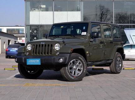 太原牧马人最高优惠1万元 现车销售