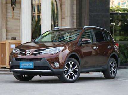兰州丰田RAV4现车销售 让利高达3.6万元