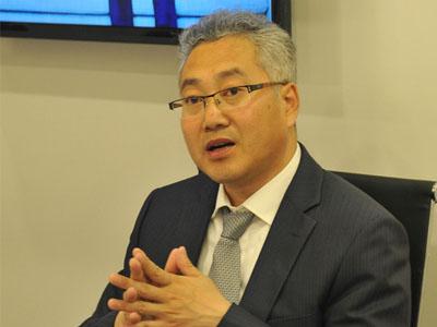 2016北京国际车展一汽马自达销售副总经理郭德强
