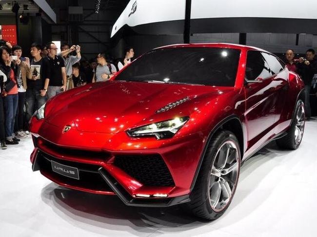 兰博基尼SUV明年面市 至2019年产量或翻倍