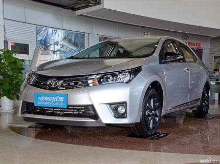 银川丰田卡罗拉最高优惠1万元 现车销售
