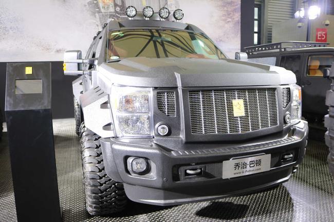 售价400万元起 乔治巴顿超级越野车实拍