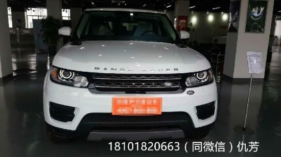 16款路虎揽胜运动版3.0T柴油白色现车