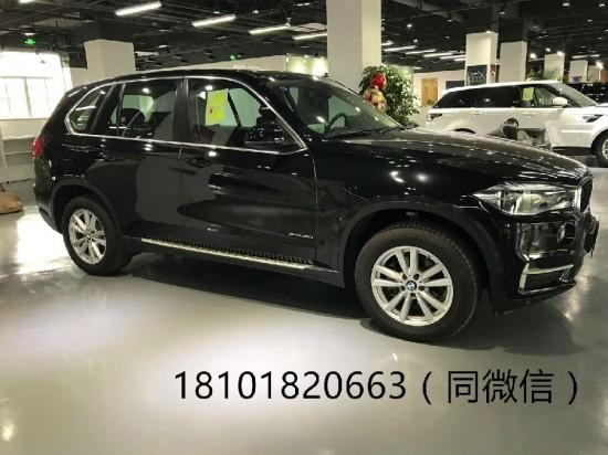 上海自贸区展厅就一台黑色现车宝马X5