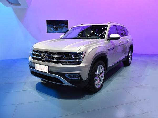 上海大众七座SUV 预计30万起售三月正式上市