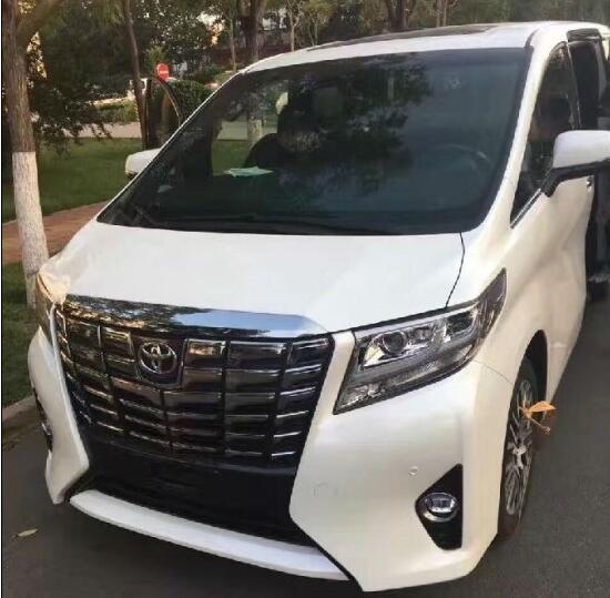 上海进口16款商务丰田埃尔法手续随车